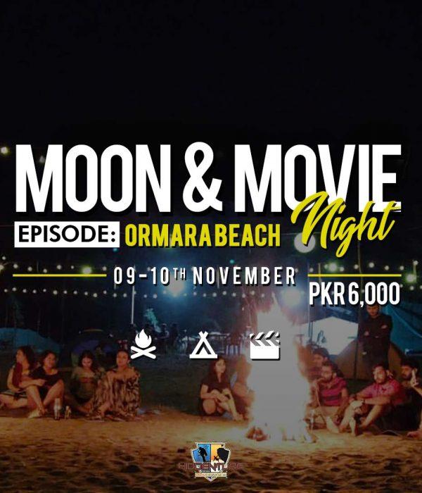 Moon & Movie Night - Episode: Ormara Beach