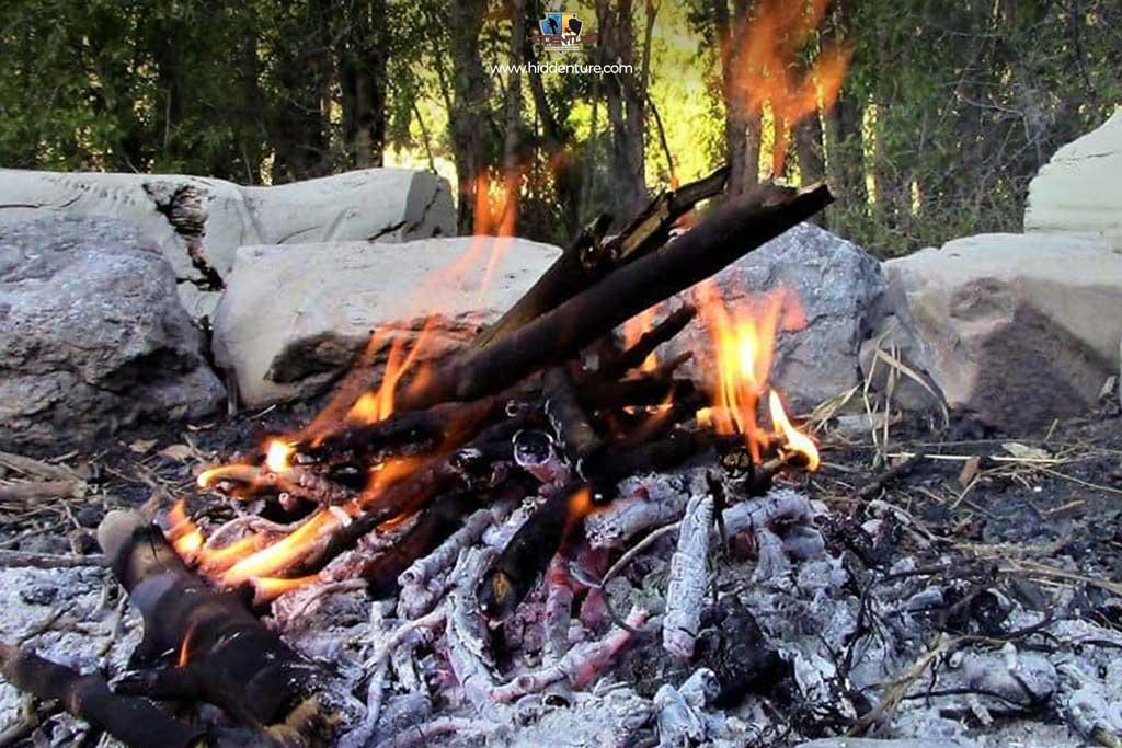 Bonfire at Kharari River
