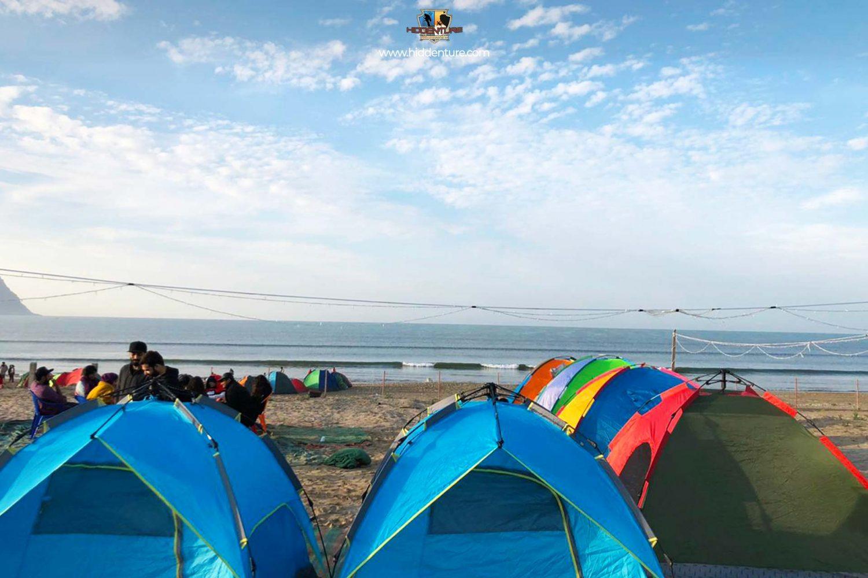 Camping at Ormara