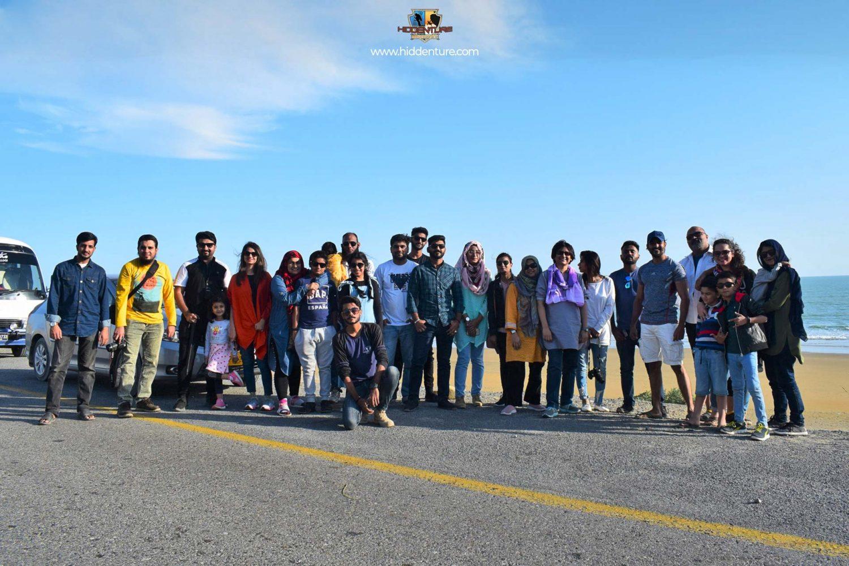 Group at Golden Beach