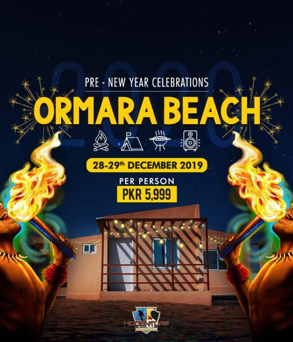 Pre-New Year at Ormara Beach